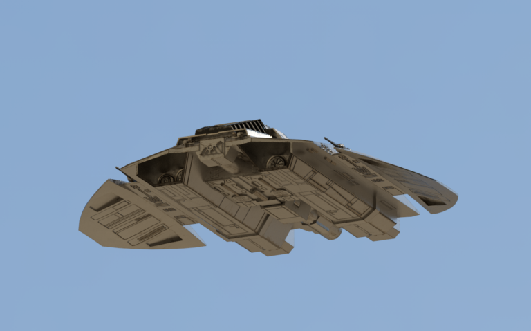 TOS Cylon Raider